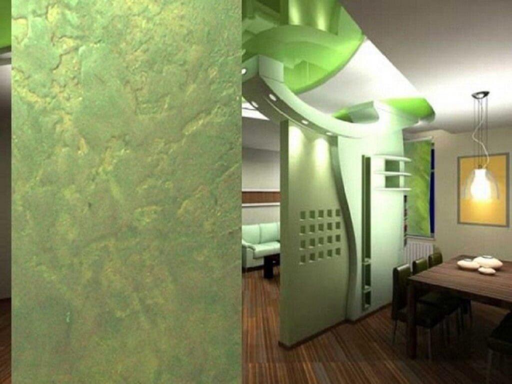 Comment décorer le couloir avec du plâtre décoratif. Plâtre ...